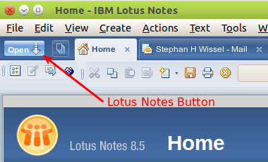 Notes Start button