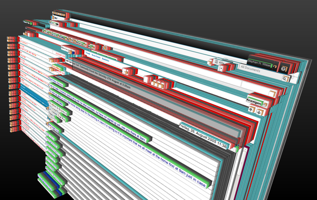 3d view of the iNotes client